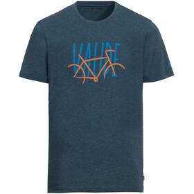 VAUDE Cyclist IV - T-Shirt Homme - bleu